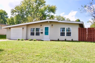 445 Countryside Drive, Florissant, MO 63033 - MLS#: 18081089