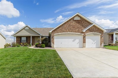 672 Big Bend Drive, Wentzville, MO 63385 - MLS#: 18081770