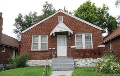 4201 Darby Street, St Louis, MO 63120 - MLS#: 18082013