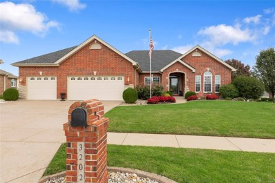 3202 Bear Tracks Drive, Wentzville, MO 63385 - MLS#: 18082860
