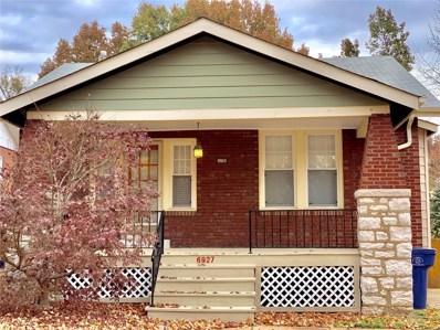 6927 Marquette Avenue, St Louis, MO 63139 - MLS#: 18089121