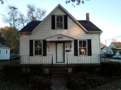 420 S Walnut Street, Trenton, IL 62293 - MLS#: 18089314