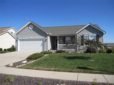 824 Moorland Circle, Mascoutah, IL 62258 - MLS#: 18095385
