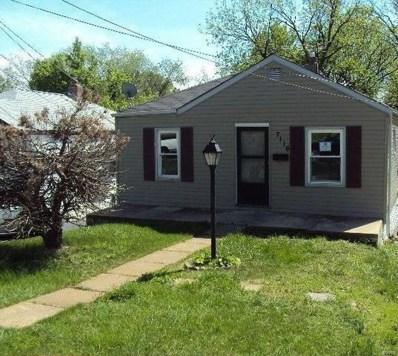 7116 Idlewild Avenue, St Louis, MO 63136 - MLS#: 19003510
