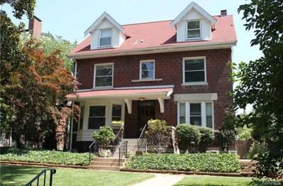 4457 McPherson Avenue, St Louis, MO 63108 - MLS#: 19010163