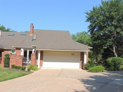 331 Morristown Court, Chesterfield, MO 63017 - MLS#: 19015984