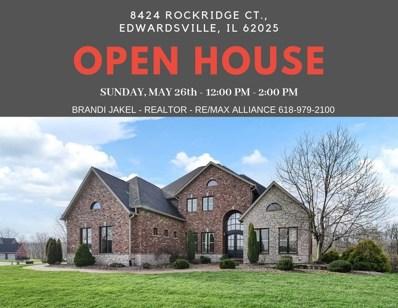 8424 Rock Ridge Court, Edwardsville, IL 62025 - MLS#: 19017675