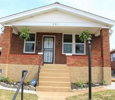 831 Catskill, St Louis, MO 63125 - MLS#: 19023254