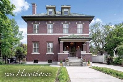 3216 Hawthorne Boulevard, St Louis, MO 63104 - MLS#: 19036664
