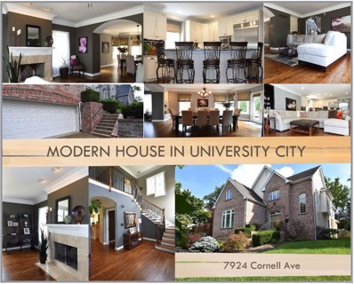 7924 Cornell Avenue, St Louis, MO 63130 - MLS#: 19041211