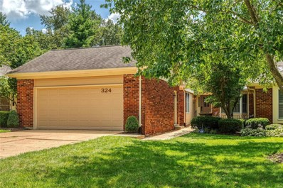324 Morristown Court, Chesterfield, MO 63017 - MLS#: 19053465