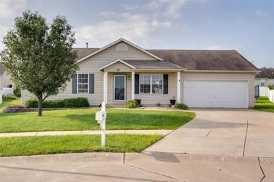 43 Double Creek Court, Wentzville, MO 63385 - MLS#: 19067922