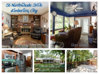 58 Northwoods Drive, Kimberling City, MO 65686 - MLS#: 60115914