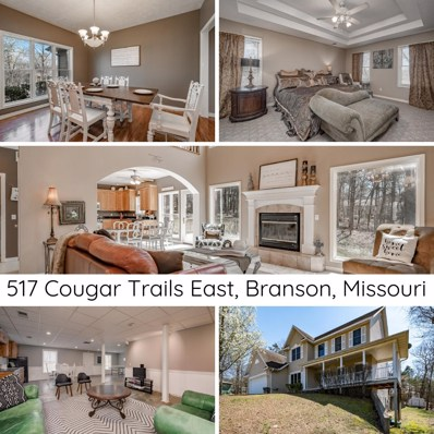 517 Cougar Trail E, Branson, MO 65616 - MLS#: 60133403