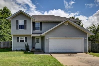 531 S Cottonwood Circle, Republic, MO 65738 - MLS#: 60139793