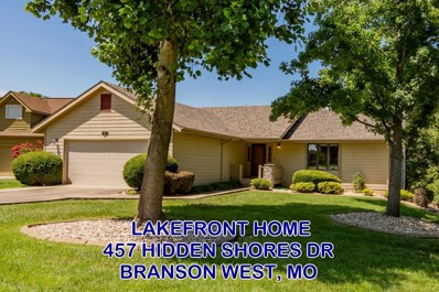 457 Hidden Shores Drive, Branson West, MO 65737 - MLS#: 60142248