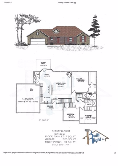 Tbd  Bethany (Lot 232) Lane, Branson West, MO 65737 - MLS#: 60143226