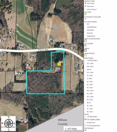 7011 Perry Road, Bailey, NC 27807 - MLS#: 100068594