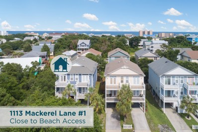 1113 MacKerel Lane UNIT 1, Carolina Beach, NC 28428 - MLS#: 100114620