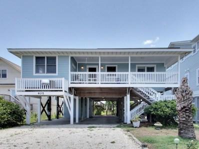 405 Ocean Boulevard W, Holden Beach, NC 28462 - MLS#: 100114756