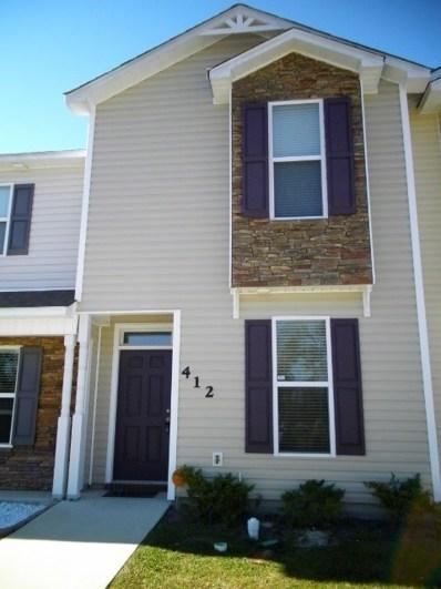 412 Glenhaven Lane, Jacksonville, NC 28546 - MLS#: 100119716