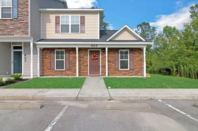 407 Glenhaven Lane, Jacksonville, NC 28546 - MLS#: 100122159