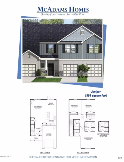 1646 Bratton Court, Wilmington, NC 28411 - MLS#: 100146364