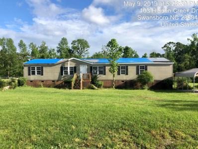 102 Hidden Creek Drive, Swansboro, NC 28584 - #: 100164815
