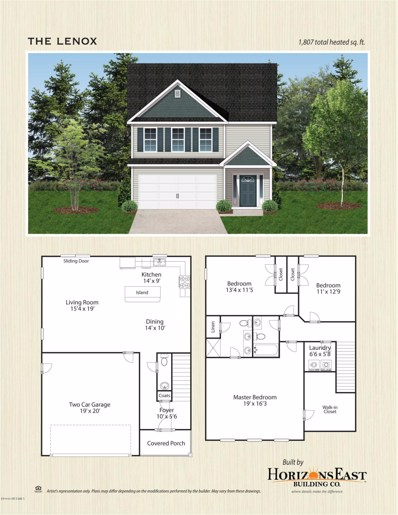 122 Pembury Way UNIT LOT 92, Richlands, NC 28574 - MLS#: 100193475