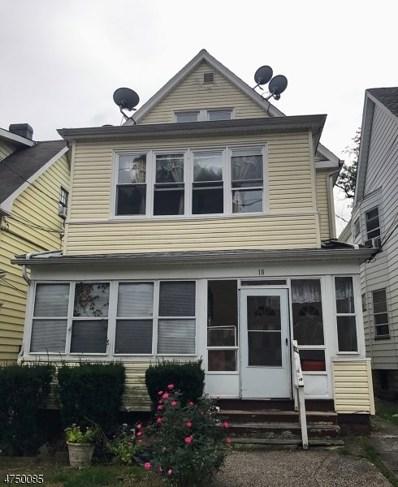 18 Shepard Ter, West Orange Twp., NJ 07052 - MLS#: 3421366