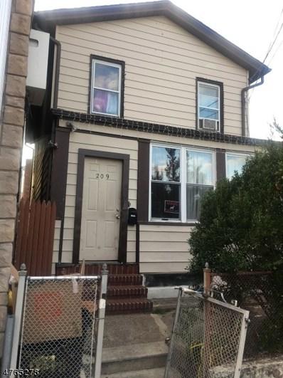 209 3RD St, Passaic City, NJ 07055 - MLS#: 3435593