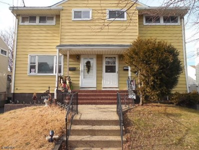 1604 Columbus Pl, Rahway City, NJ 07065 - MLS#: 3448458