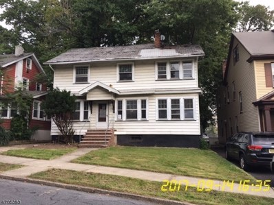 56 Wayne Ave, East Orange City, NJ 07018 - MLS#: 3453245