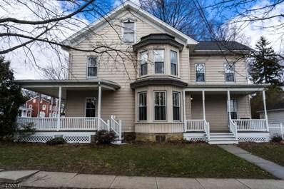 323 Washington St, Hackettstown Town, NJ 07840 - MLS#: 3459207