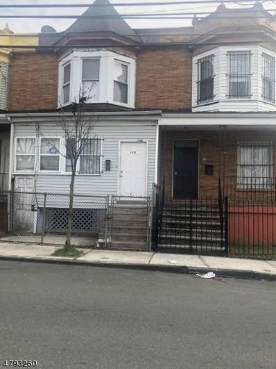 116 11TH Ave, Newark City, NJ 07107 - MLS#: 3460461