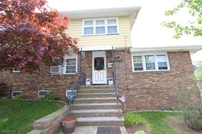 149 Arnot Street, Garfield City, NJ 07026 - MLS#: 3470250