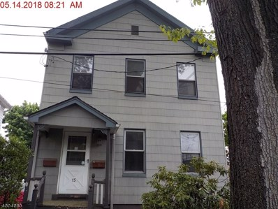15 W Emerson Ave, Rahway City, NJ 07065 - MLS#: 3471260