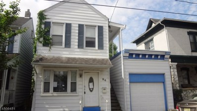 94 Lewis St, Phillipsburg Town, NJ 08865 - MLS#: 3475656