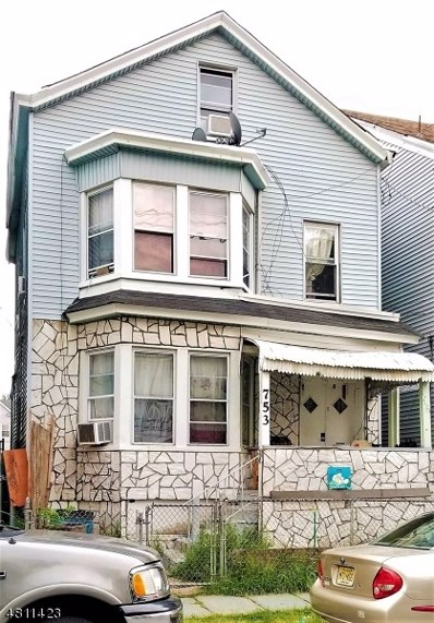753 E 18TH St, Paterson City, NJ 07501 - MLS#: 3479886