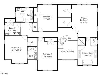 6 Couch Court, Allendale Boro, NJ 07401 - MLS#: 3480706
