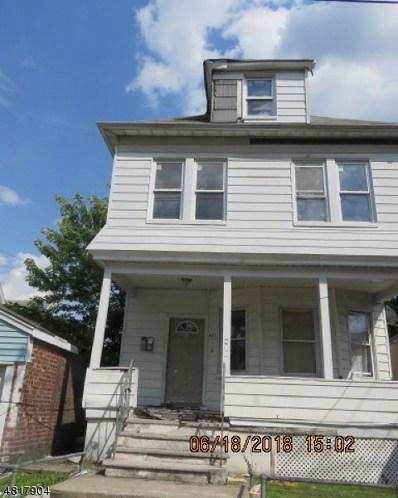 421 Oak St, Passaic City, NJ 07055 - MLS#: 3483540