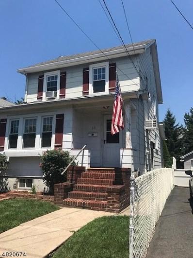 33 Martin St, Bloomfield Twp., NJ 07003 - MLS#: 3486066