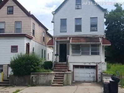 423 Highland Ave, Passaic City, NJ 07055 - MLS#: 3489235