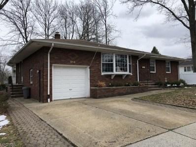 314 Denman Rd, Cranford Twp., NJ 07016 - MLS#: 3493933