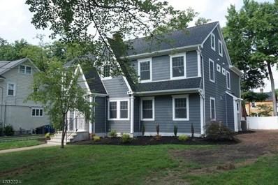 833 Carleton Rd, Westfield Town, NJ 07090 - MLS#: 3496952