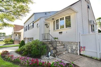 2 Marie Rd, Woodbridge Twp., NJ 08863 - MLS#: 3498422