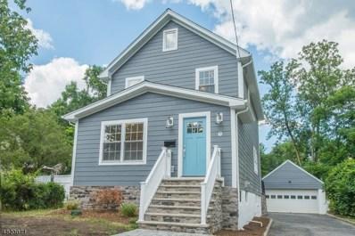7 Vine St, Chatham Boro, NJ 07928 - MLS#: 3500773
