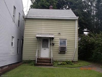 241 Sussex St, Paterson City, NJ 07503 - MLS#: 3501713