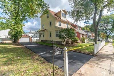 205 Amsterdam Ave, Roselle Boro, NJ 07203 - MLS#: 3509171