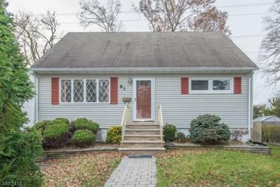 81 Norman Ave, Parsippany-Troy Hills Twp., NJ 07034 - MLS#: 3515536
